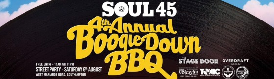 SOUL 45 4th Annual Boogie Down BBQ