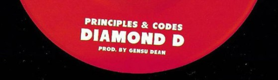 Gensu Dean - Principles & Codes featuring  Diamond D