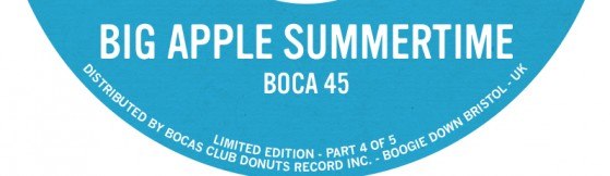 Boca 45 'Big Apple Summertime' (BCD)