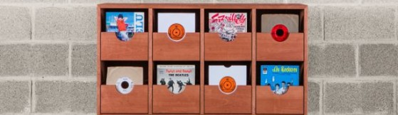 45s Record Storage by Button Up Furniture