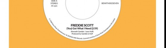 Freddie Scott - (You) Got What I Need (Be With)