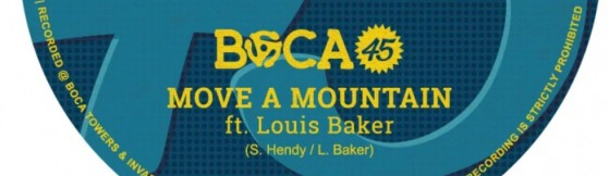 Boca 45 feat. Louis Baker 'Move A Mountain' (B Block)