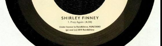 Shirley Finney - Pray Again (Rain&Shine)