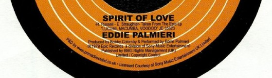 Eddie Palmieri - Spirit Of Love (Epic)