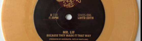 Mr. Lif - Because They Made It That Way (Soul Dynamite)