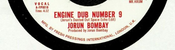Jorun Bombay 'Engine Dub Number 9' (Fresh Pressings)