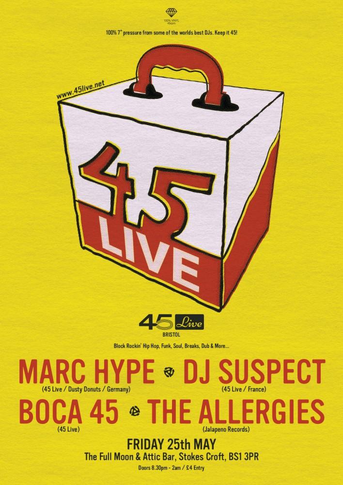 45 Live | Bristol